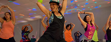 SAC zumba exercise classes